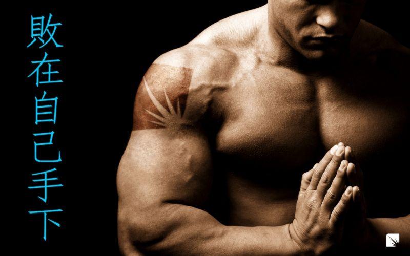 defeat will power sports life spirit motivation inspiration fitness muscle men people wallpaper