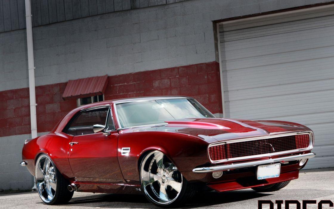 cars tuning chevrolet camaro wheels red cars wallpaper