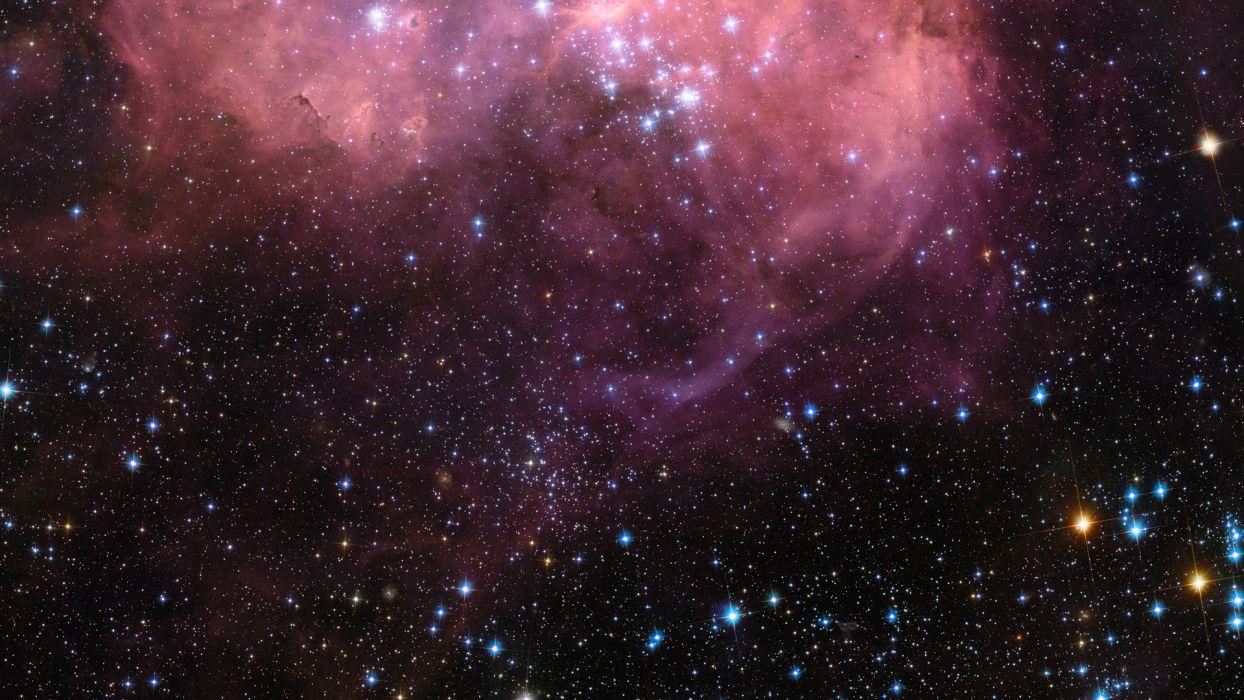 sci fi science outer nebula stars wallpaper