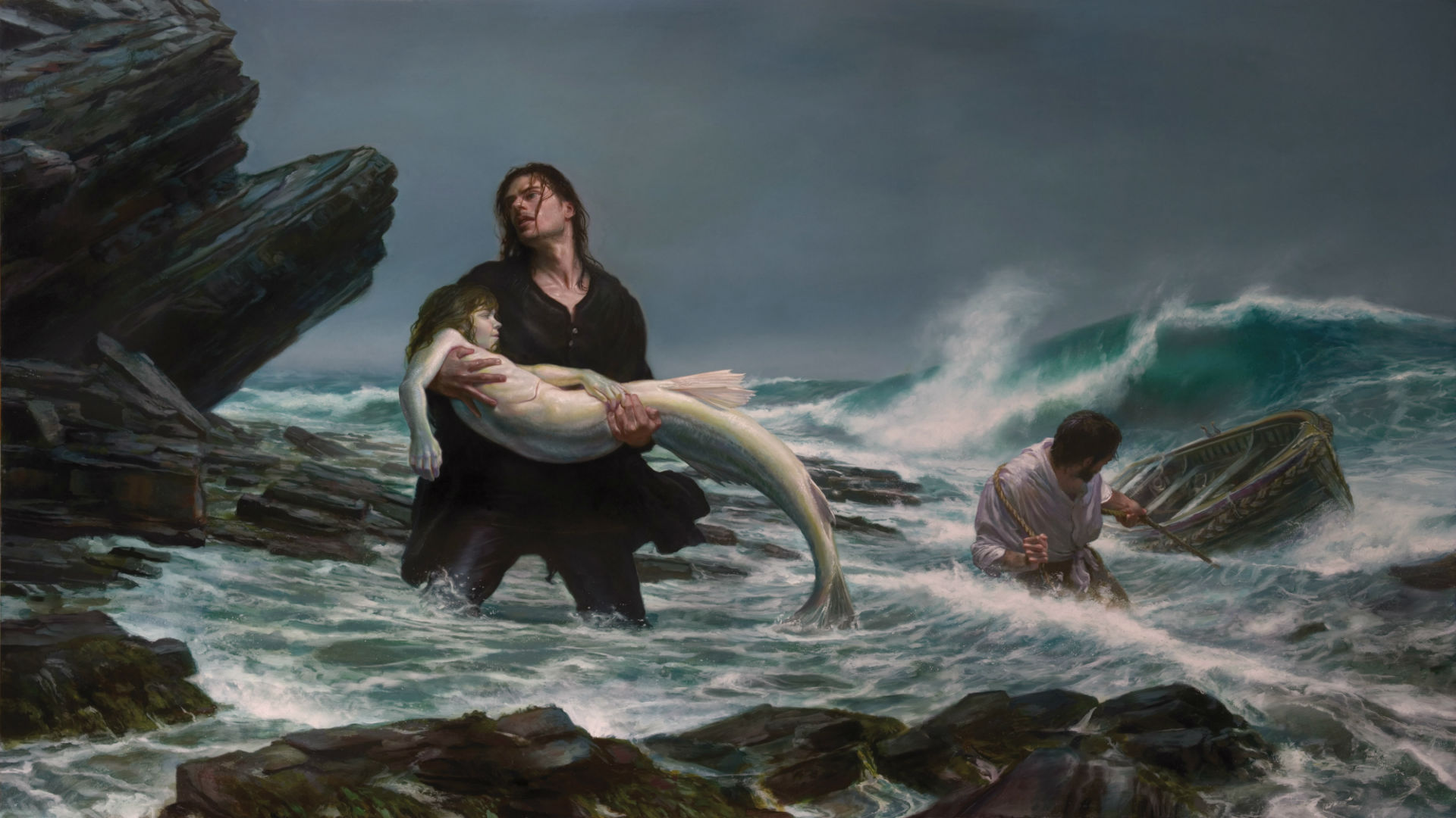 Fantasy Mermaid Art wallpaper