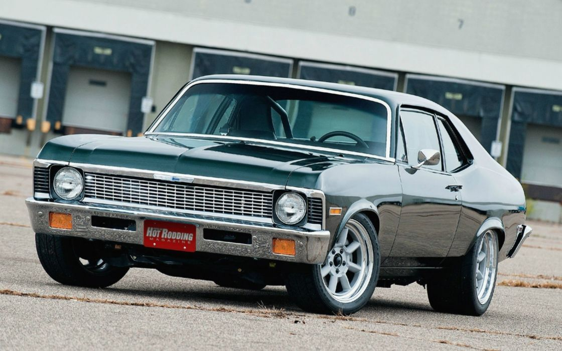 Chevrolet Nova 1970 muscle cars hot rod tuning wallpaper