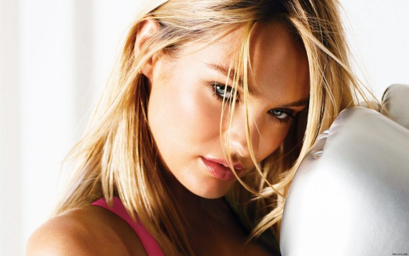 Candice Swanepoel women fashion models blondes sexy babes face eyes pov wallpaper