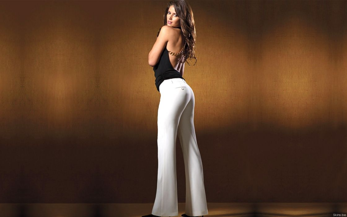 Carla Ossa women model fashion brunettes sexy babes wallpaper