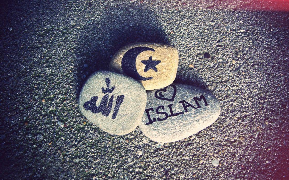 religion islam bokeh stones rocks wallpaper