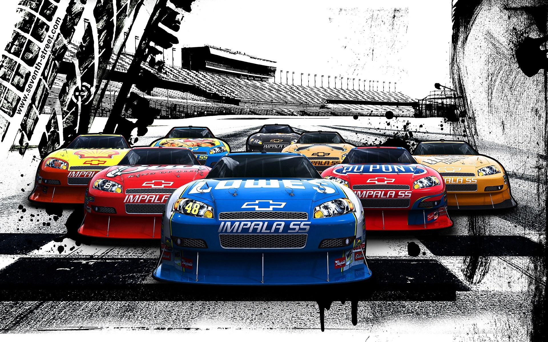 Thunderhill Race Car Wallpaper: Nascar Racing Race Cars Wallpaper