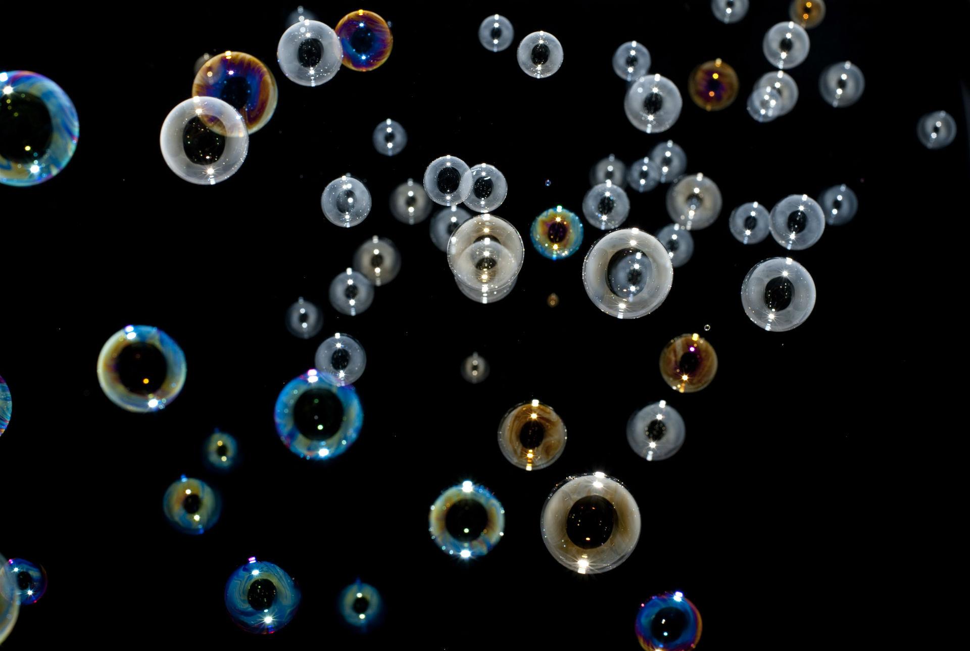 Soap Bubbles Sphere Rainbows Circles Clear Shiny Reflection Bokeh Photography Mood Wallpaper 1920x1288 32261 Wallpaperup
