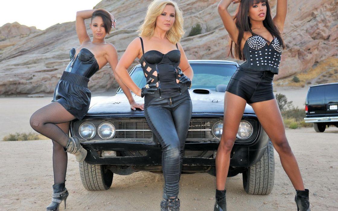 Sugababes pop women models sexy babes brunettes blondes cars wallpaper