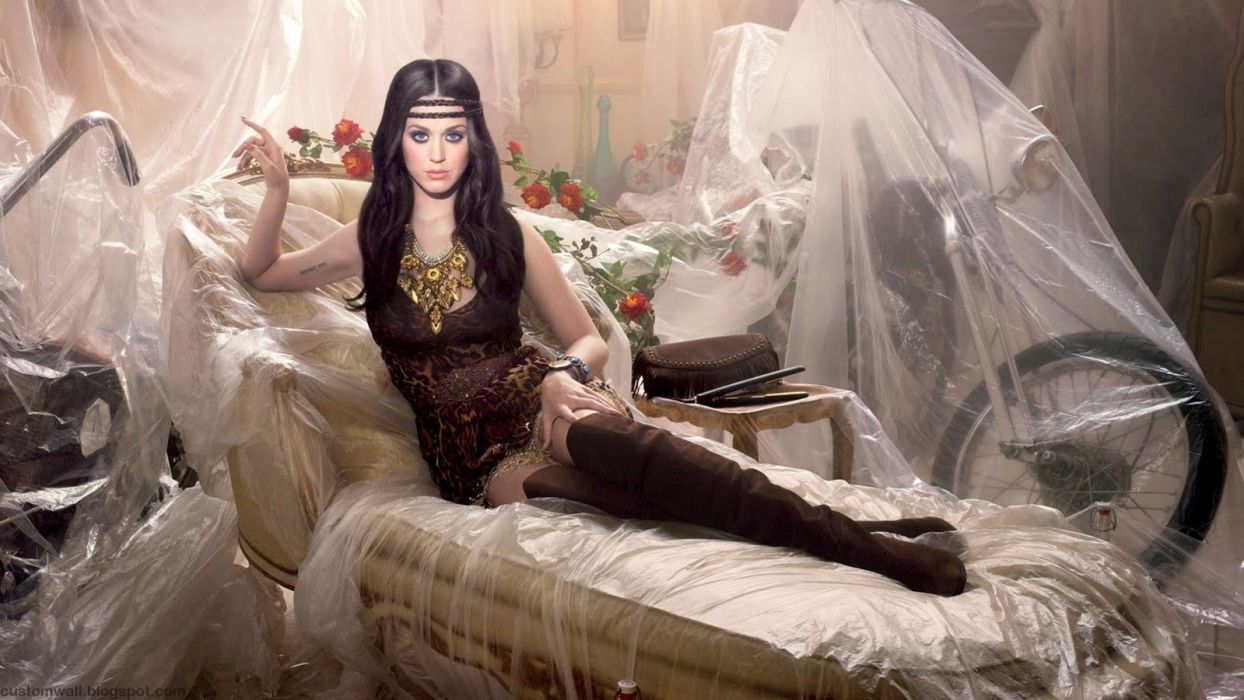 Katy Perry actress music singer pop women models brunettes sexy babes legs style wallpaper