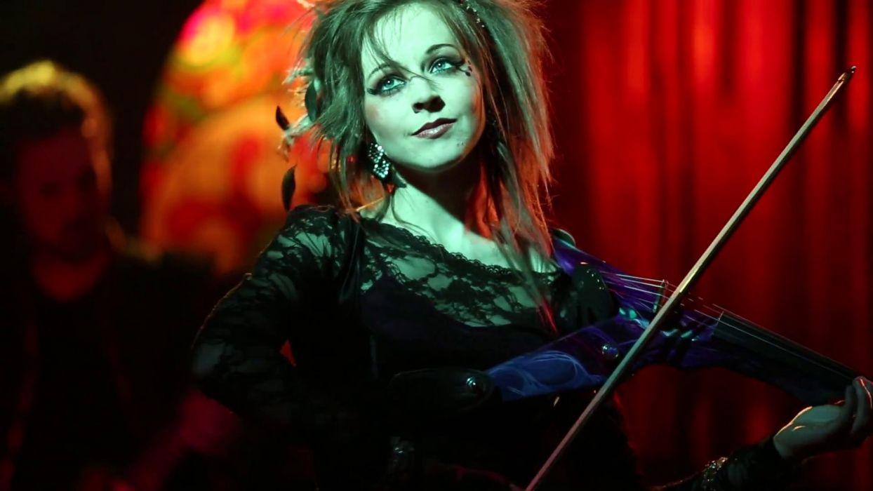 lindsey stirling violinist musician musical instrument women faces eyes brunettes babes concert wallpaper
