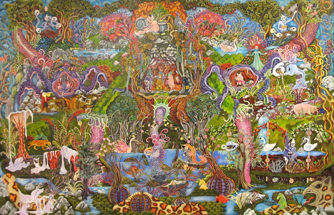 Mayan art dark horror religion wallpaper