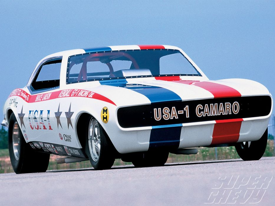 1968 Chevy Camaro Super Stock drag racing race cars hot rod custom muscle wallpaper