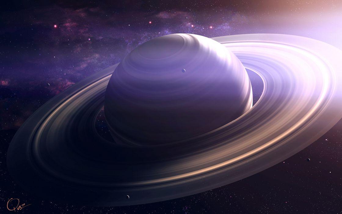 cg digital art sci fi science planets stars wallpaper