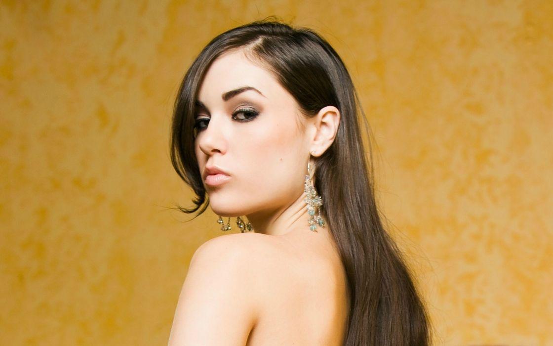Sasha Grey adult women models actress brunettes sexy babes wallpaper