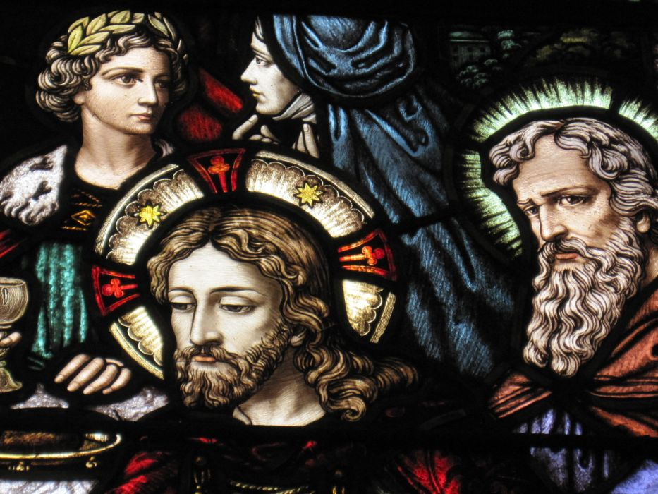 religion stained glass jesus catholic wallpaper