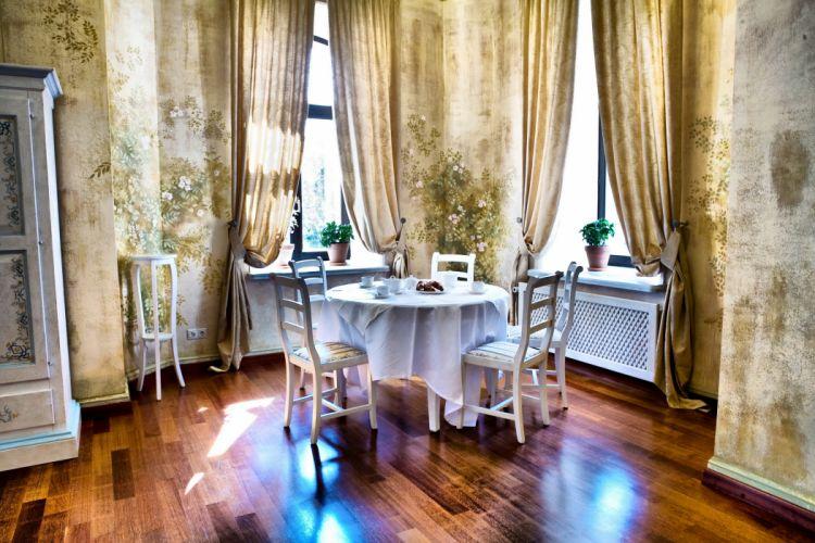 rooms retro windows interior design wallpaper