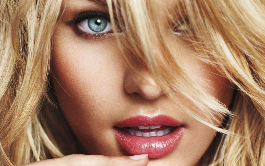 candice swanepoel women fashion models face eyes pov blondes lips wallpaper