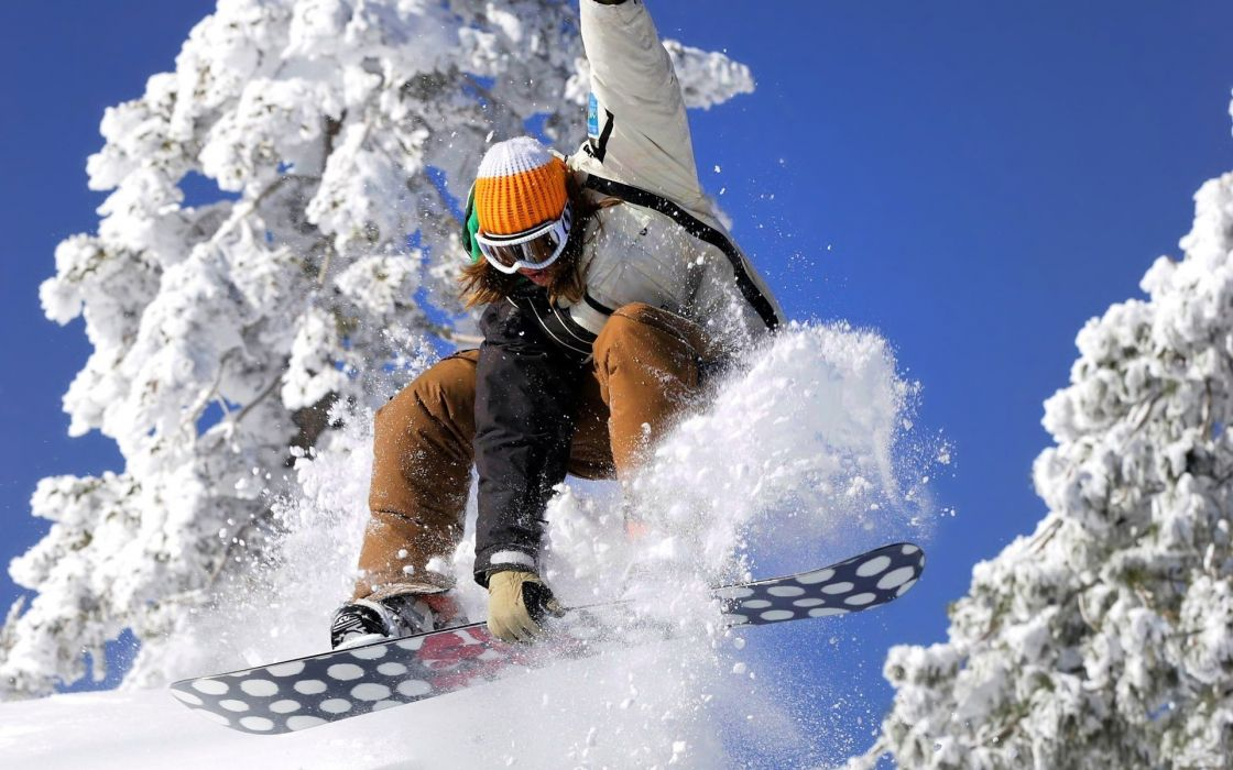 snowboarding winter snow extreme people nature wallpaper