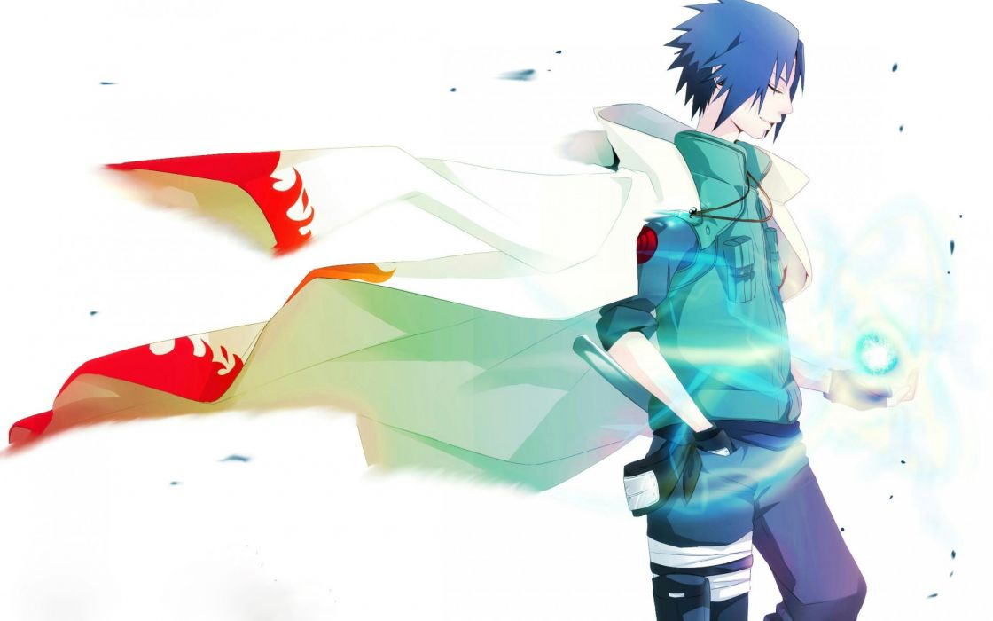 Naruto Sasuke Uchiha art boy wallpaper