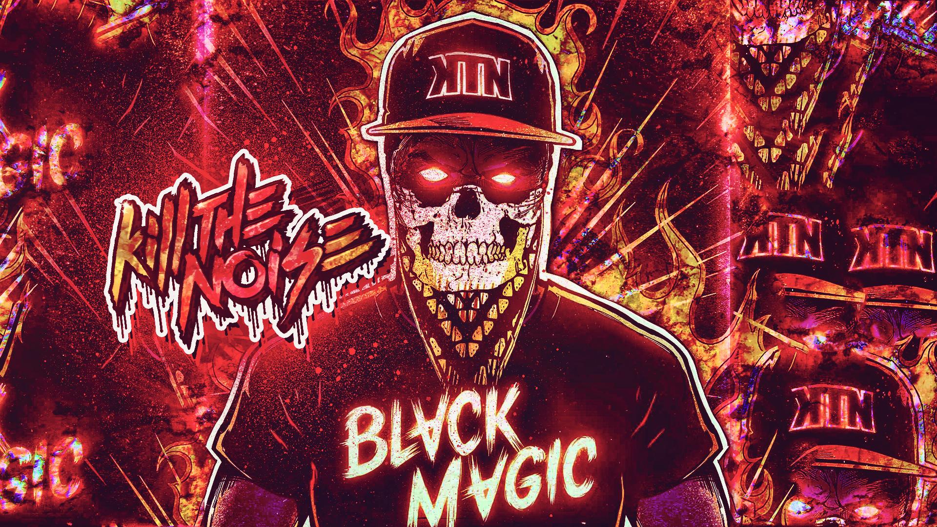 Kill The Noise Skull Dark Horror Hip Hop Rap Eyes Demon Art