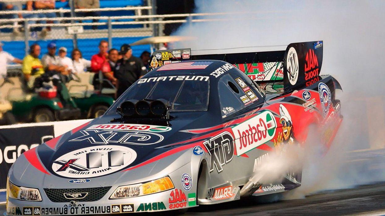 drag racing race track nhra burnout smoke blown funny wallpaper