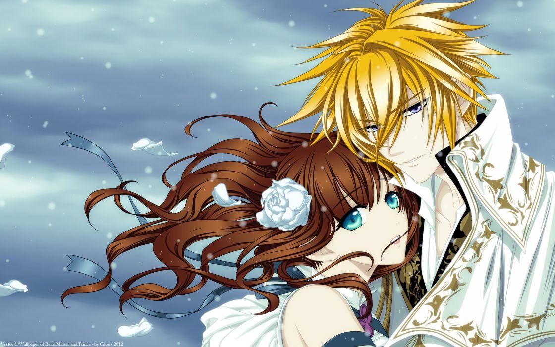 Miko (Mangaka) Mangaka Idea Factory Studio Beast Master and Prince Visual Novel Matheus Character Tiana love romance wallpaper