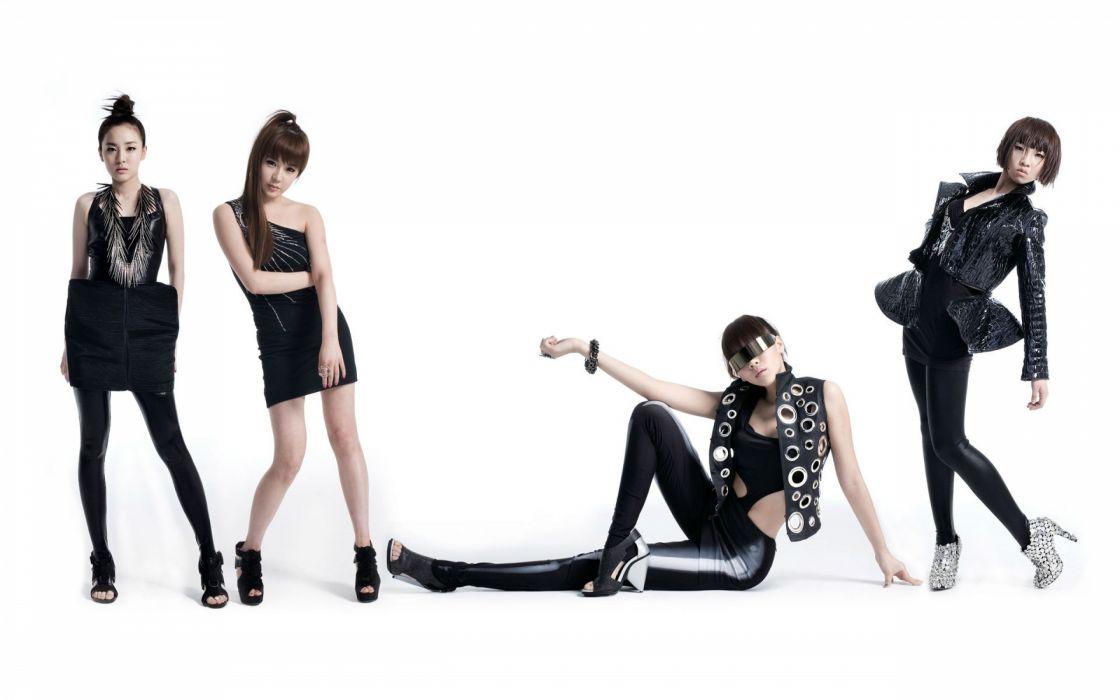 2NE1 K Pop bands asian oriental women sexy babes wallpaper