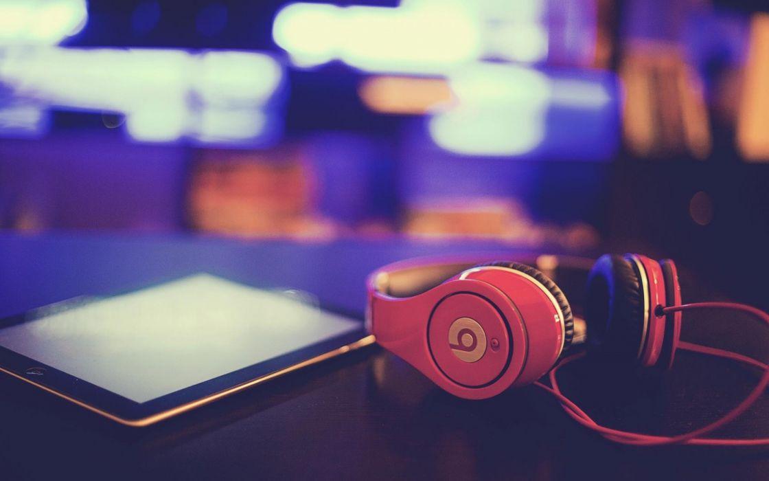 headphones macro wallpaper