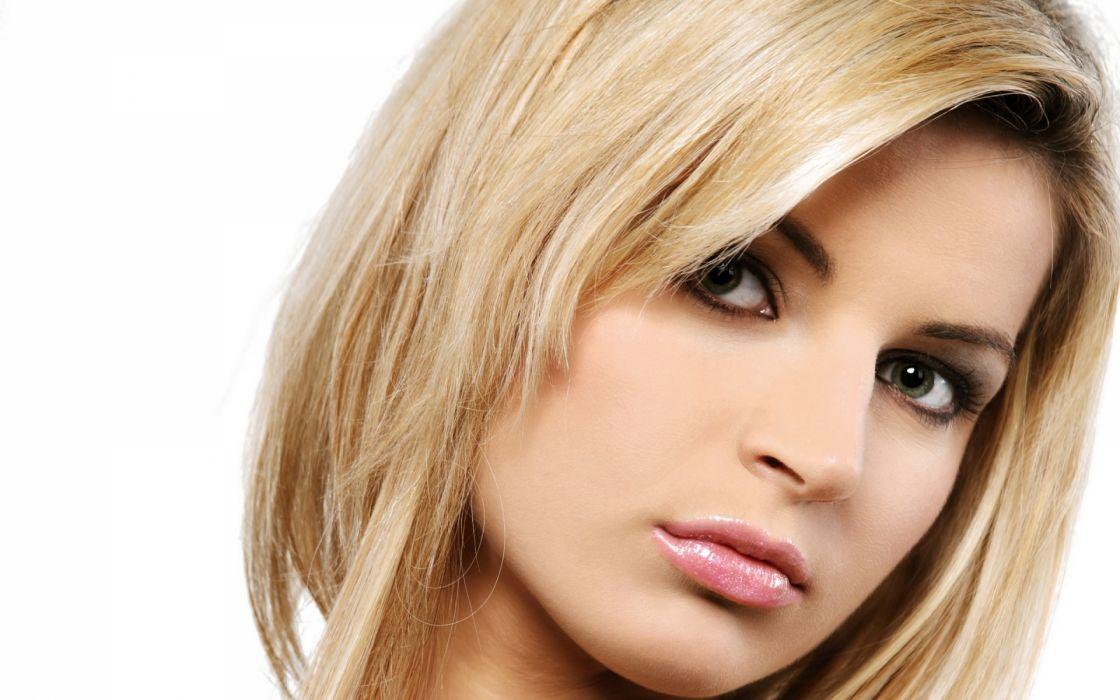 women models blondes face babes eyes pov wallpaper