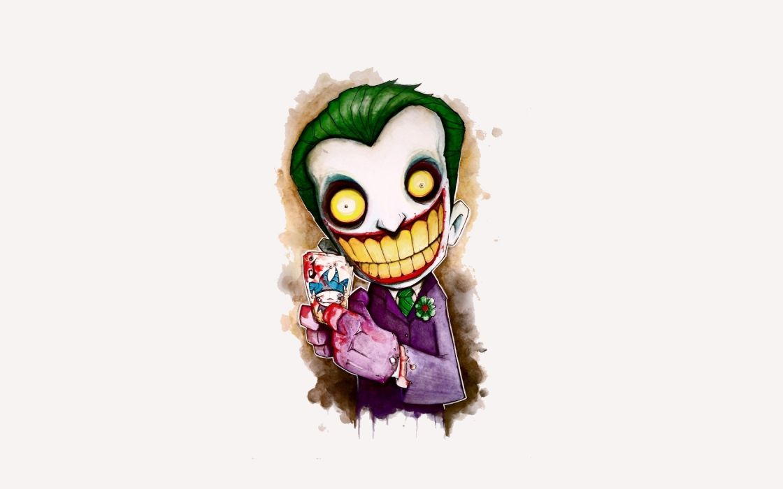 batman joker cartoon games video clowns evil dark wallpaper