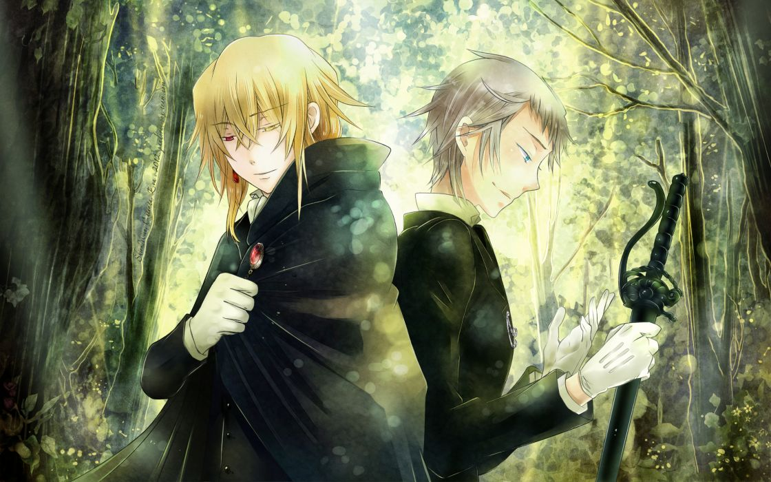 Pandora Hearts Series Eliot Nightray Character Vincent Nightray wallpaper