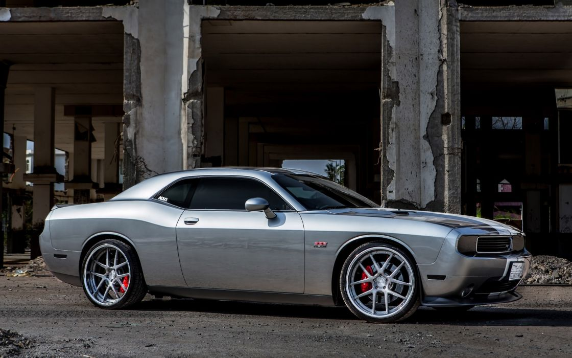 Dodge Challenger concept tuning muscles cars wallpaper