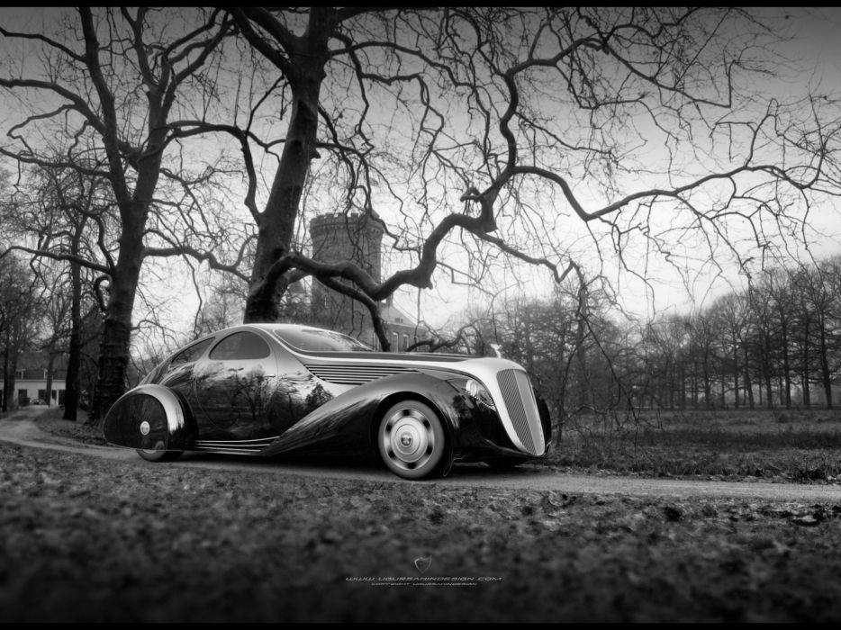Rolls Royce Jonckheere Aerodynamic Coupe II 2012 wallpaper