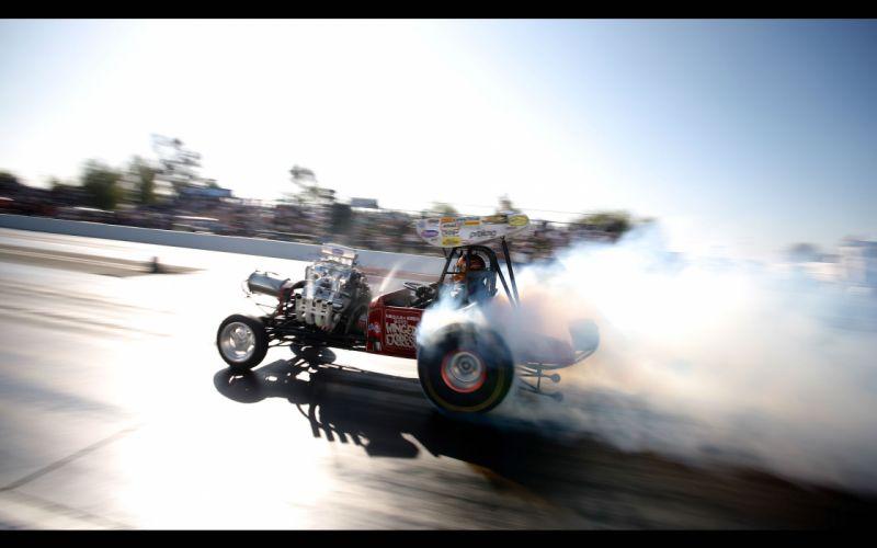 drag racing burnout smoke race track wallpaper
