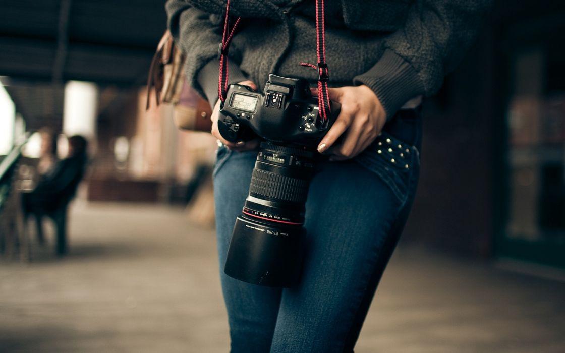 mood camera women models lens wallpaper