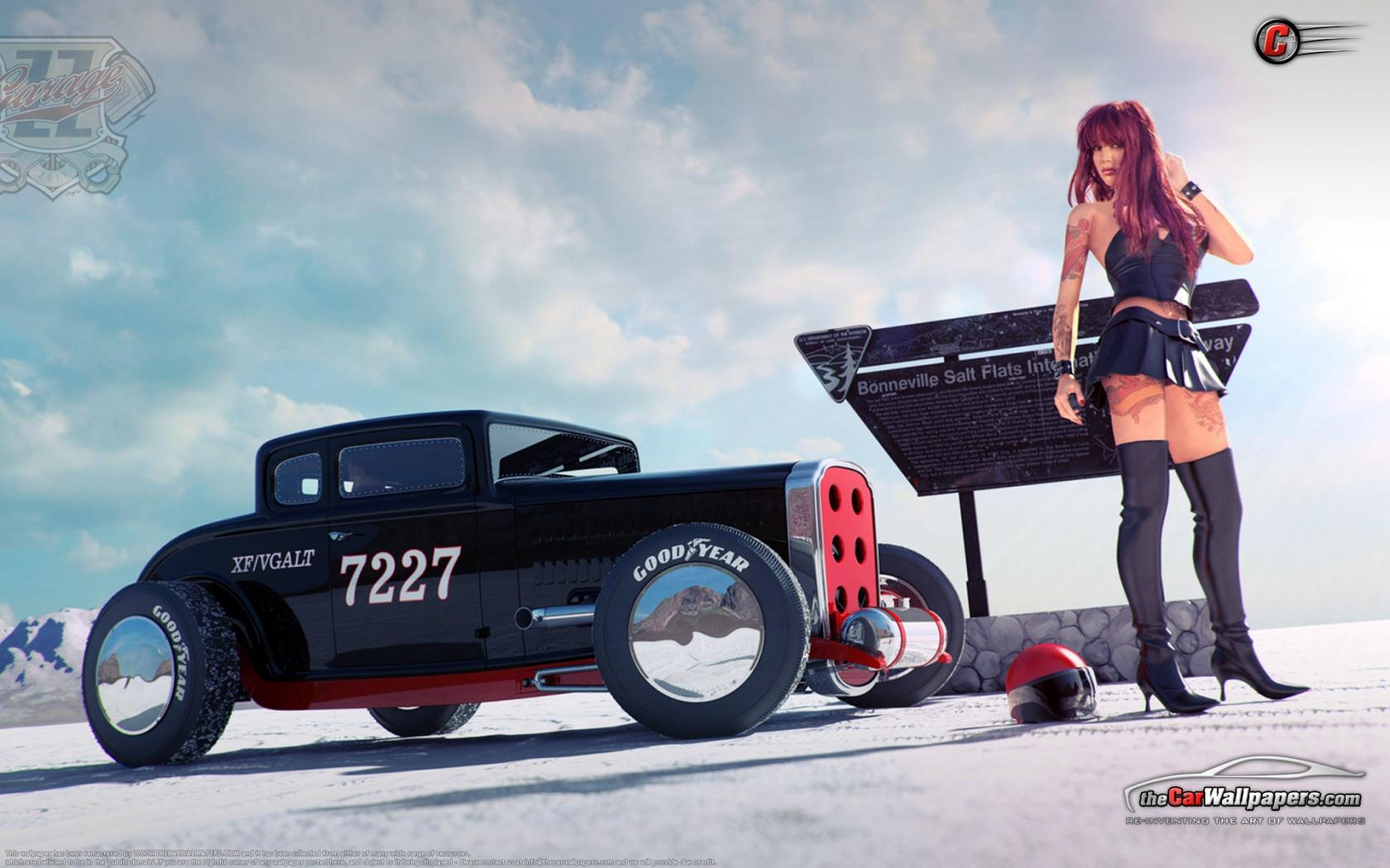 Custom Hot Rods Cars and Girls