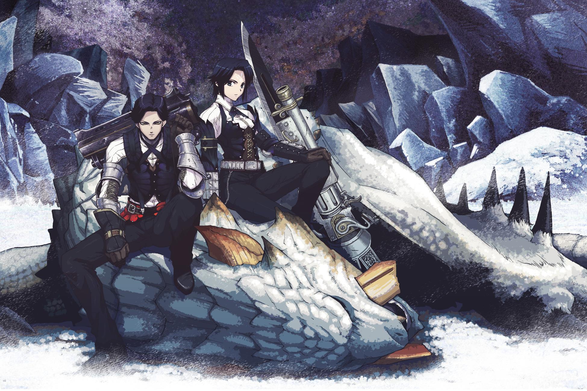 Monster Hunter Anime Wallpaper 1949x1299 34508 Wallpaperup