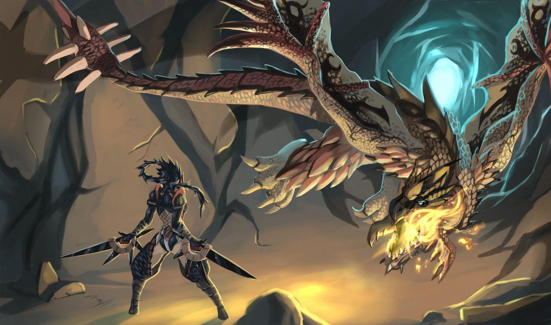 Monster Hunter anime wallpaper
