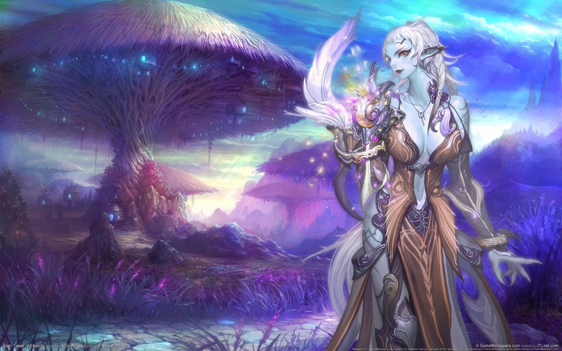 Aion fantasy art wallpaper