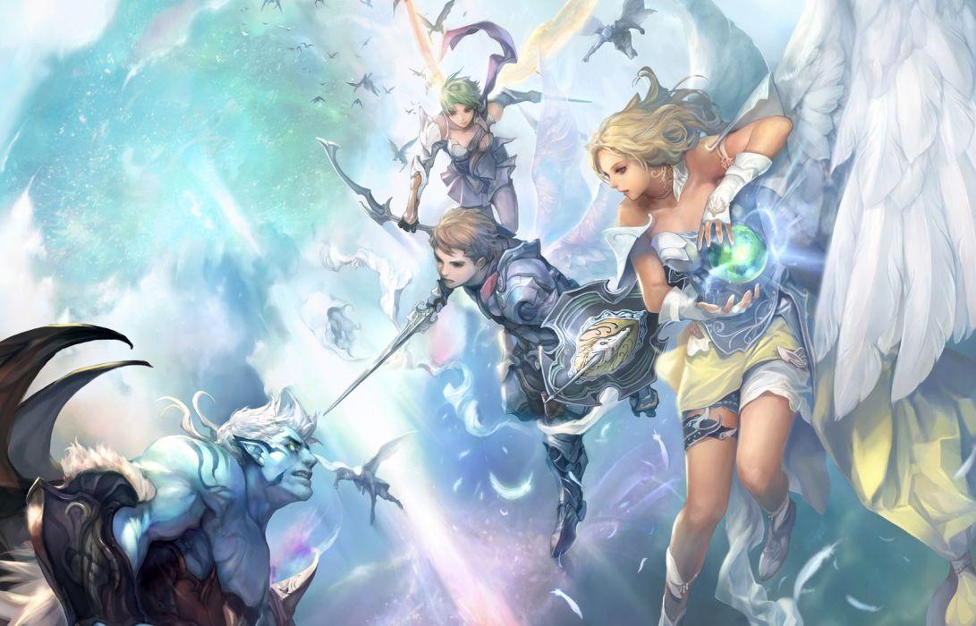 Aion fantasy art wallpaper