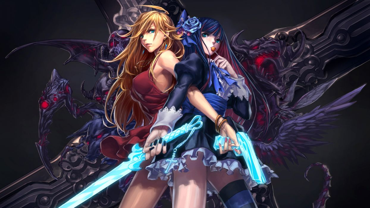 Panty And Stocking With Garterbelt Wallpaper 1920x1080 34677