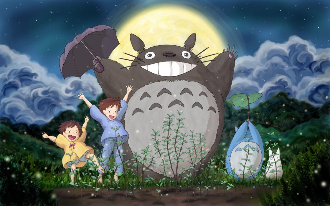 My Neighbor Totoro Wallpaper 1920x1200 34754 Wallpaperup