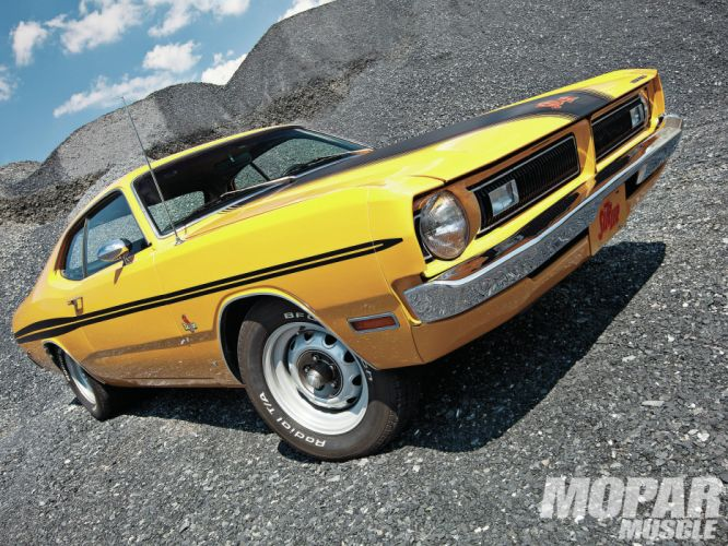 1971 Dodge Demon Hemi muscle cars wallpaper