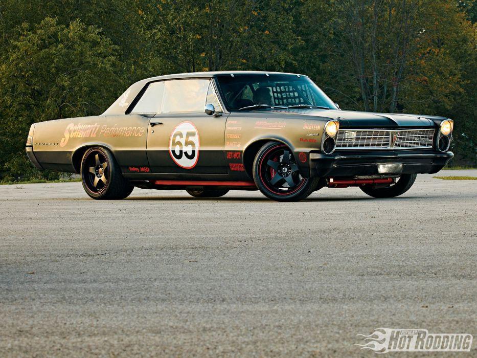 1965 Pontiac Tempest muscle cars racing race hot rod wallpaper