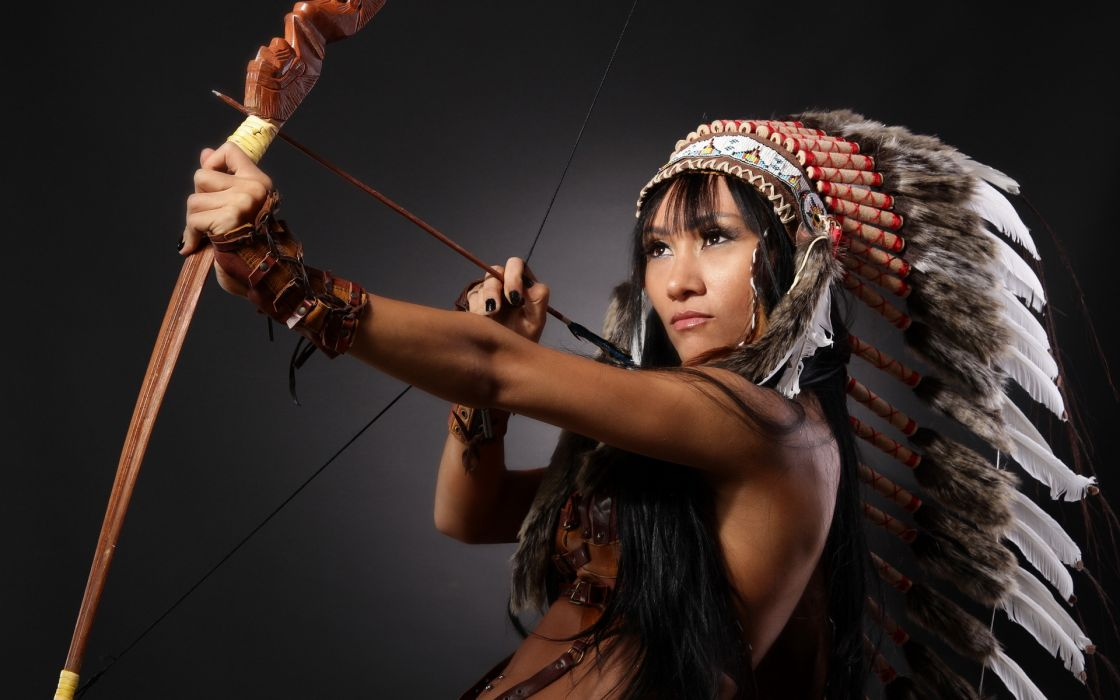asian oriental native american indian women models brunettes sexy babes wallpaper
