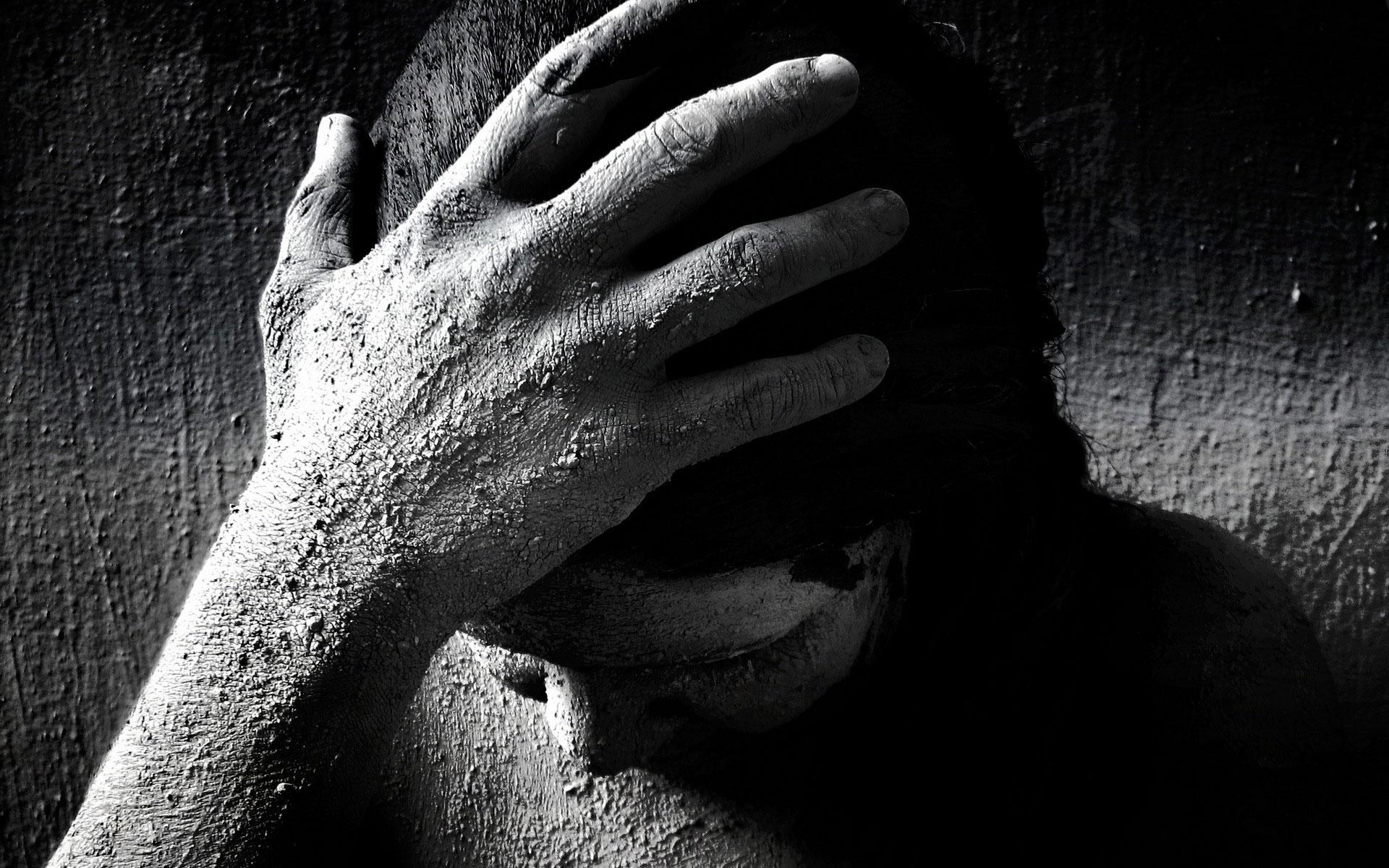 Dark horror mood sad sorrow gothic 3d wallpaper ...
