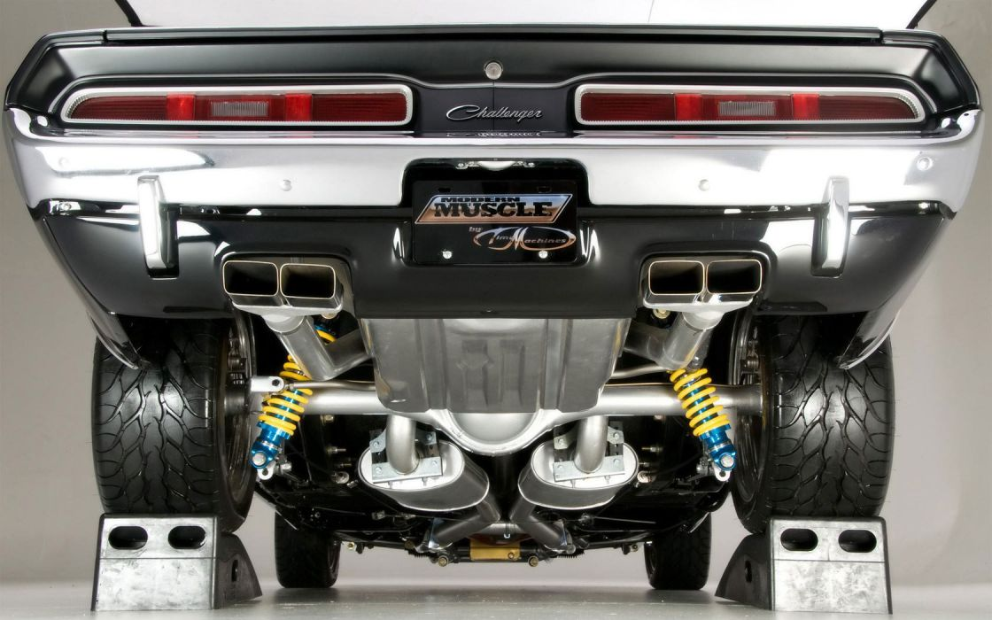 Dodge Challenger muscle cars hot rods wallpaper