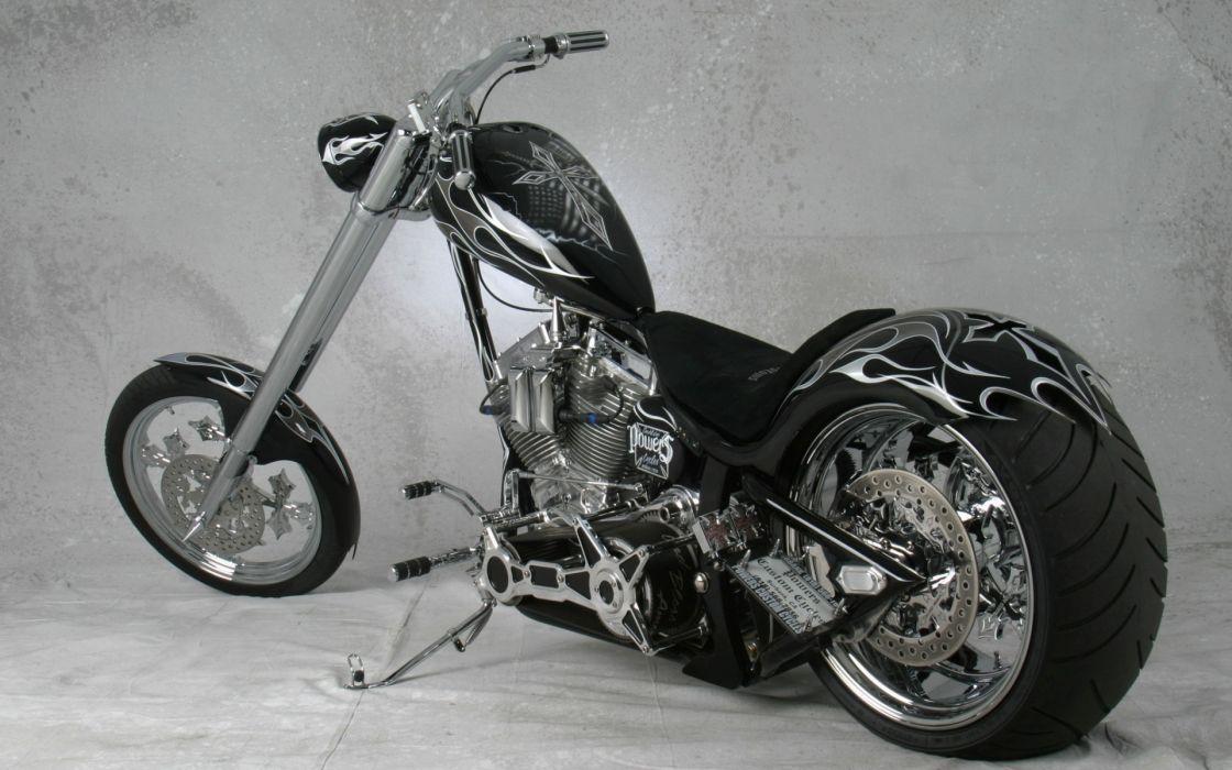 chooper sled custom bikes wallpaper