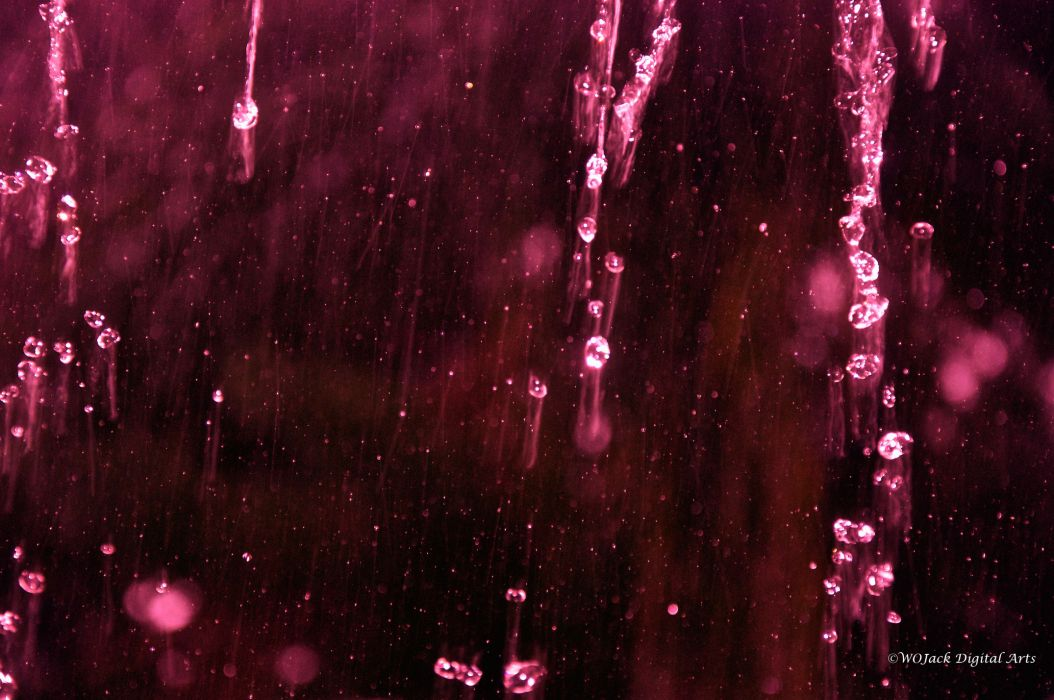 red rain storm glass window abstract bokeh wallpaper