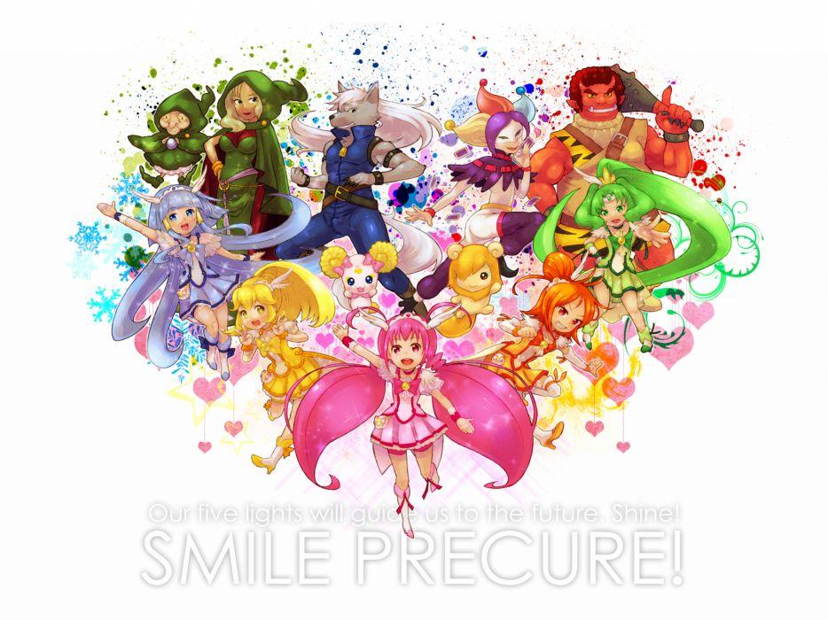 Smile Precure! wallpaper