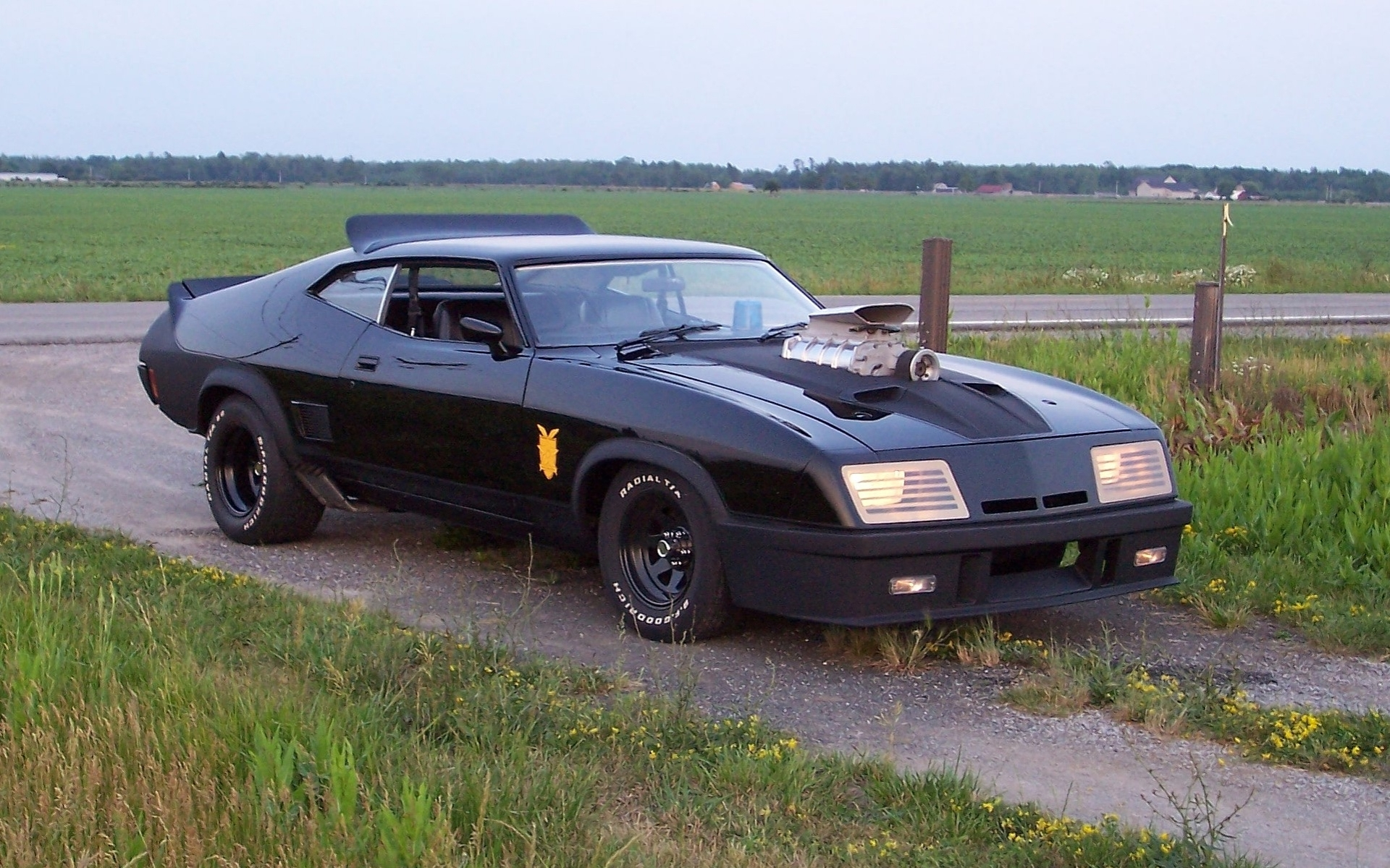 Mad Max Interceptor Ford Falcon Movies Hot Rod Muscle Cars
